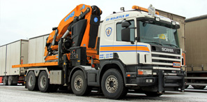 HIAB (Lorry Mounted Crane)